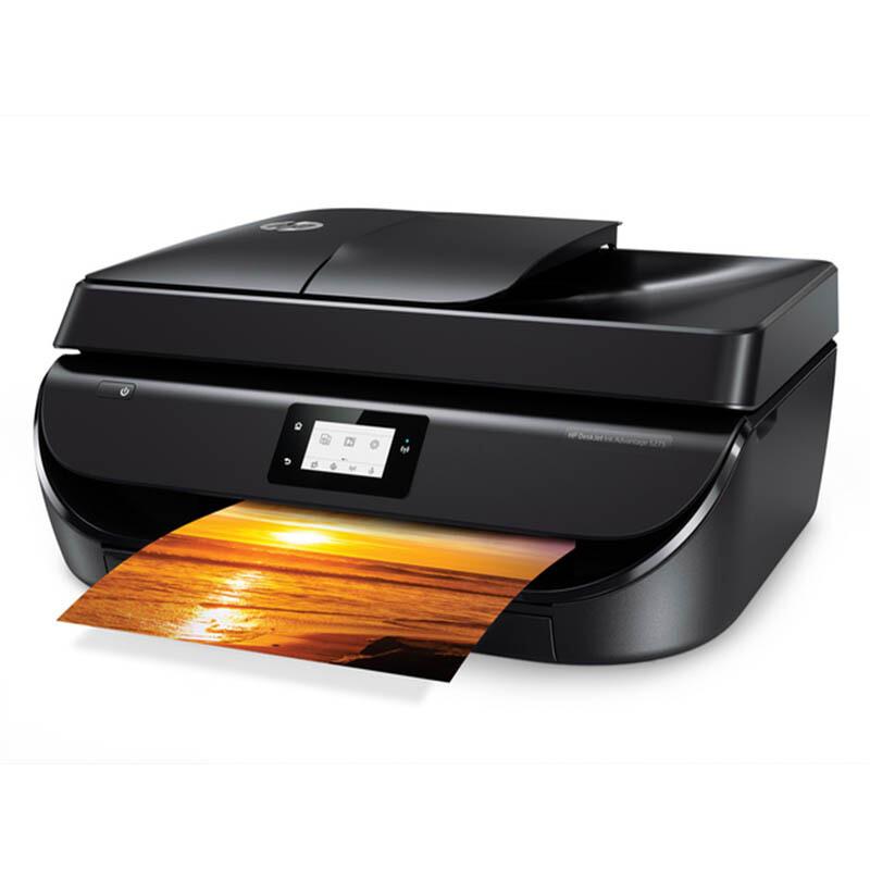 惠普 (HP) DJ 5278 无线传真一体机 惠省系列 无线,打印,扫描,传真,复印(4678升级型号)