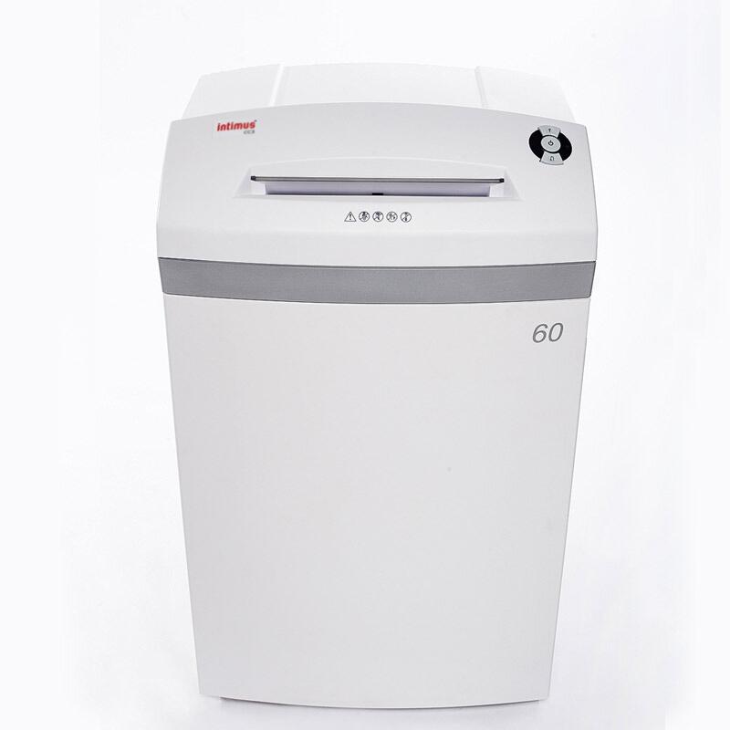 英明仕(intimus)60CC6办公碎纸机 六级高保密 60升大容积