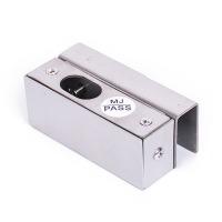 中控智慧(ZKTeco)U型不锈钢支架门夹 适用于玻璃门10-15mm厚度门夹 电插锁配套