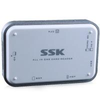 飚王(SSK)SCRM056多功能合一读卡器 USB3.0高速读写 支持TF/SD/CF/