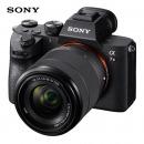 索尼(SONY)ILCE-7M3/a7M3/A7 III全画幅微单相机 专业可换镜数码相机 A7M3K(含28-70镜头)标准套装 (含相机包)