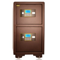 甬康达 BGX-D1-730S 双层电子密码保管箱上下双门保管柜