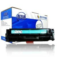 鑫万通CF411A适用惠普M452DW/dn墨盒M377dw打印机M477FDW/FNW硒鼓 CF411A蓝色硒鼓