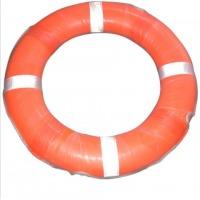 橙色专业防汛抗洪救生圈 泳池用救生圈 标准救生圈