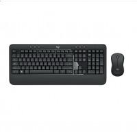 罗技(Logitech)MK540 无线键鼠套装 黑色 防泼溅 优联 舒适掌托
