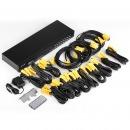 迈拓维矩 MT-1601UK-CH 16口KVM切换器16进1出USB多电脑监控录像机服务器切换器