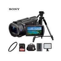 索尼(SONY)FDR-AX60 4K数码摄像机 家用手持DV 5轴防抖约20倍变焦新品