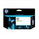 惠普(HP) C9373A 72 黃色墨盒 (適...